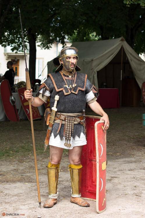 A roman soldier. That's me!
