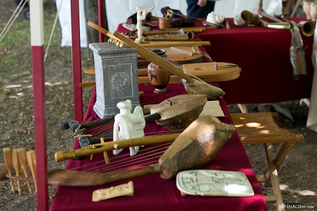 ancient roman music instruments
